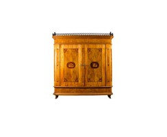Armoire classicism 1815/20 cherry-wood and walnut