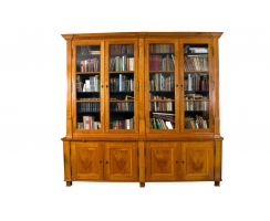library bookcase Biedermeier cherry wood