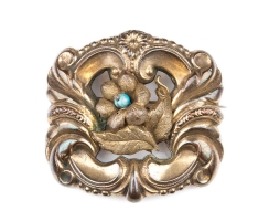 Antique Biedermeier brooch