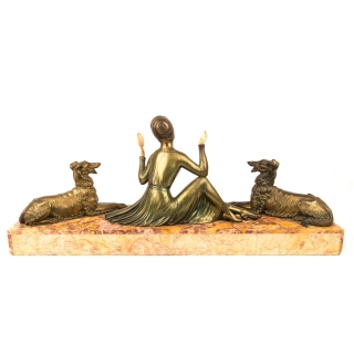 Antique Art Deco sculpture 1920