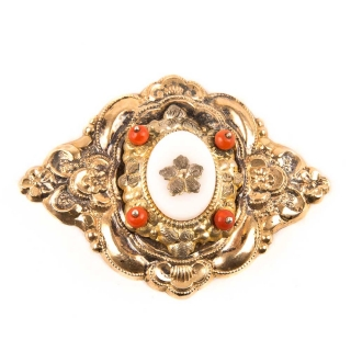 Biedermeier brooch 1840