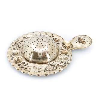 Antique tea strainer